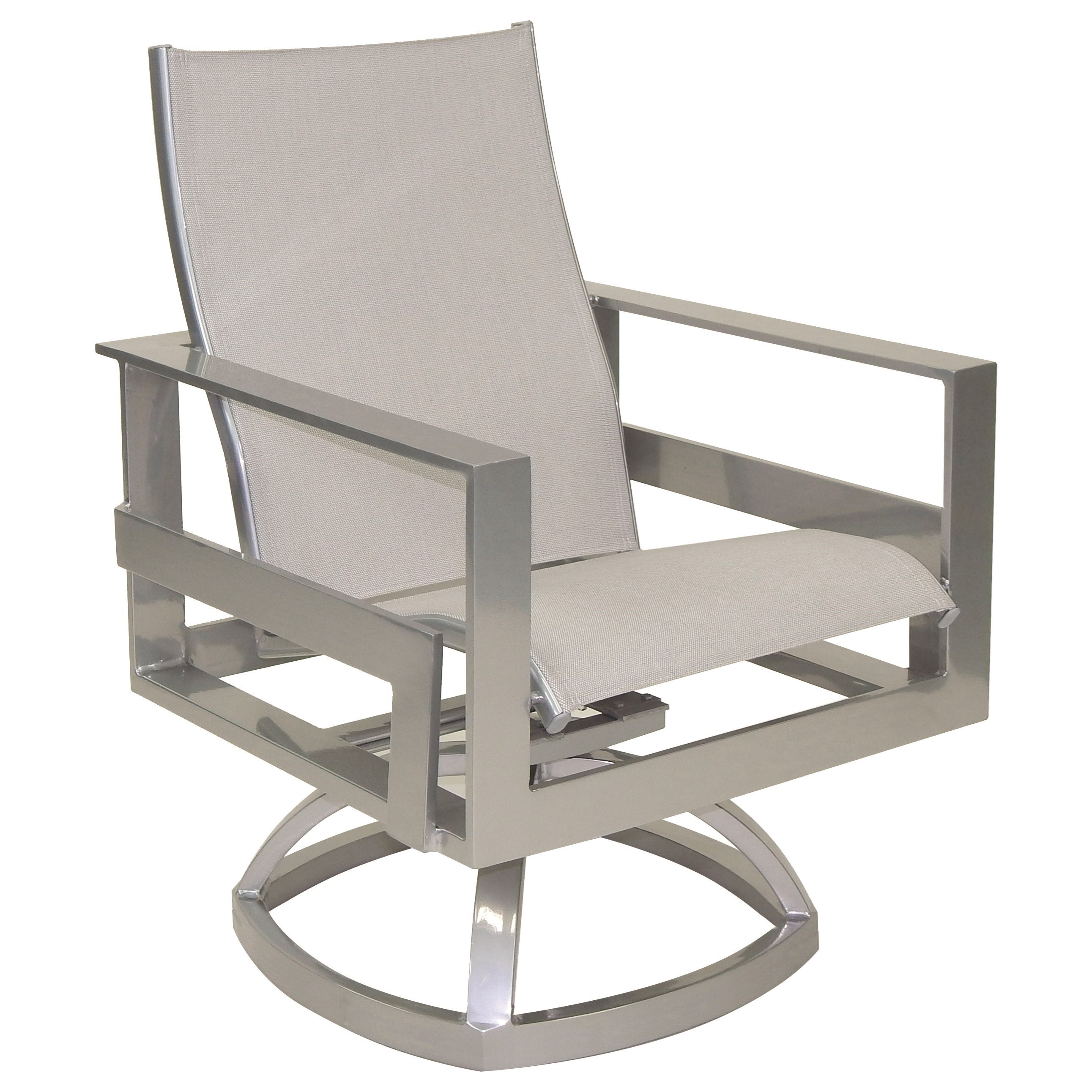 Eclipse Sling Swivel Rocker by Castelle by Pride Family Brands at Baer's Furniture