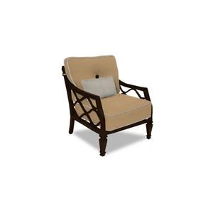 Castelle by Pride Family Brands Villa Bianca Villa Bianca Cushioned Lounge Chair