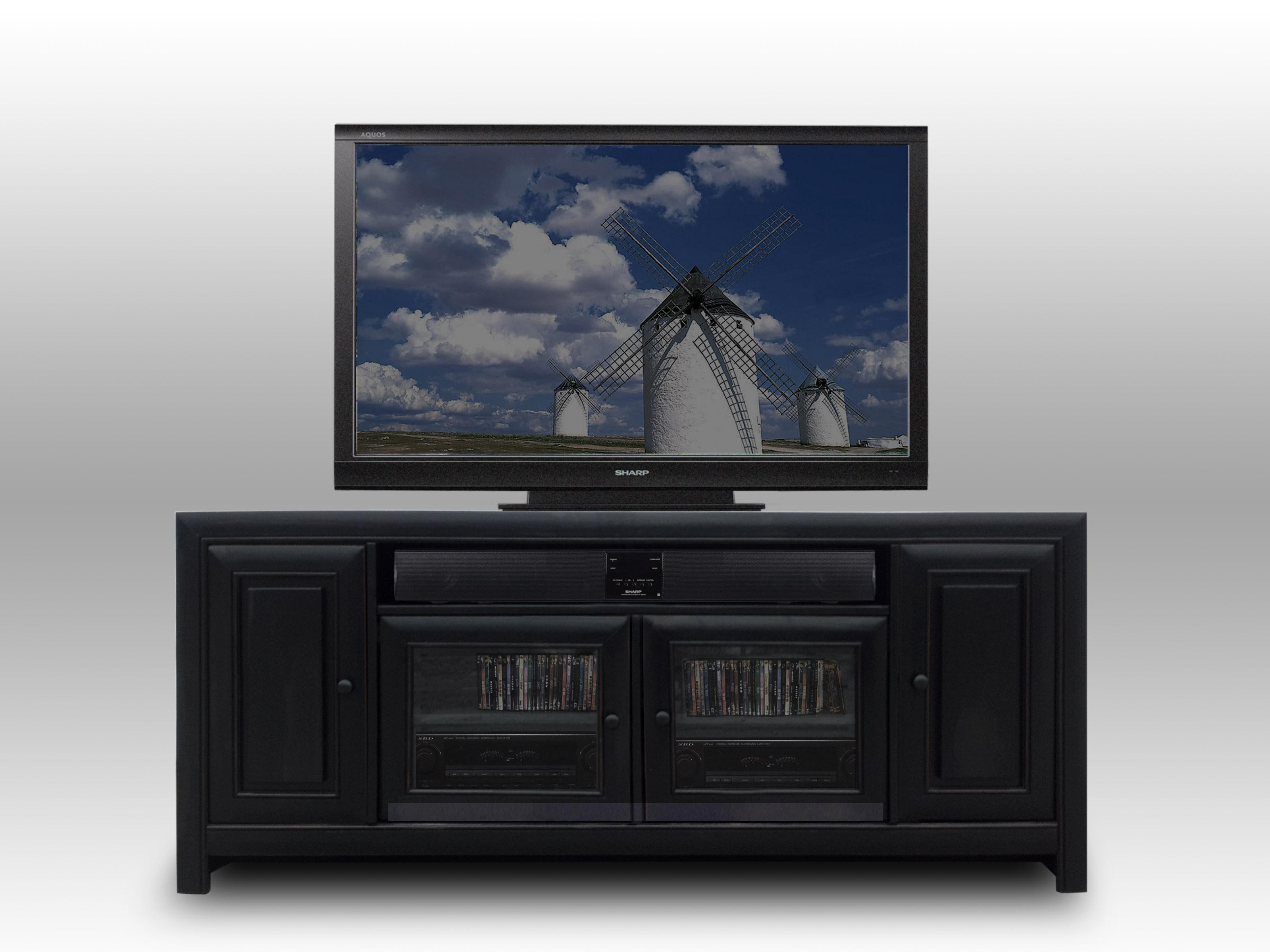 "Morris Home Furnishings Arcola Arcola 72"" Media Storage Console - Item Number: f"