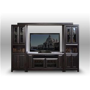 "Morris Home Furnishings Arcola Arcola 4 Piece 60"" Wall Unit"