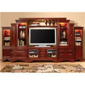 "Morris Home Furnishings Metropolitan 52"" Media Storage Wall"