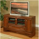 "Morris Home Furnishings Maple City Maple City 57"" Media Console - Item Number: MP9957"