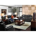 Catnapper  Catalina Casual Reclining Sofa