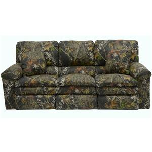 Catnapper Trapper Casual Reclining Sofa