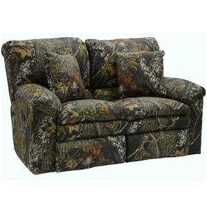 Catnapper Trapper Casual Reclining Love Seat