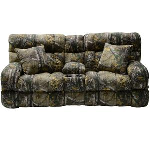 Catnapper Appalachian Casual Lay FlatPowerRecliningConsoleLoveSeat