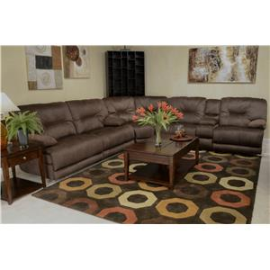 Catnapper Noble Reclining Sectional Sofa