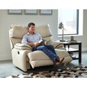 Catnapper Larkin Lay-Flat Recliner - Recline Handle/Button May Differ From What is Shown