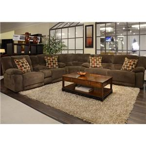 Catnapper Hammond Reclining Sectional Sofa