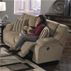 Catnapper Hammond Power Reclining Console Loveseat