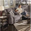 Catnapper Hammond Reclining Console Loveseat - Item Number: 1449-2776-58