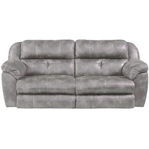 Power Headrest Lay-Flat Reclining Sofa