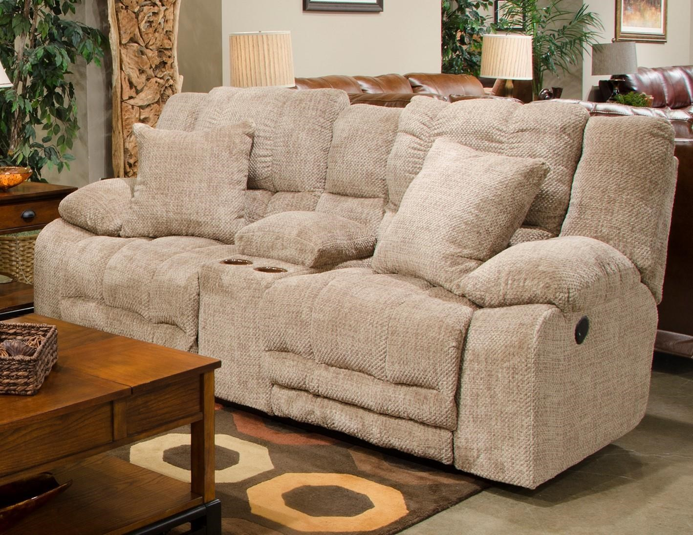 Catnapper 200 Reclining Console Loveseat - Item Number: 2009loveseat