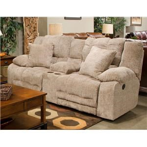 Catnapper 200 Reclining Console Loveseat
