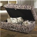 Catnapper Birch Creek Casual Storage Ottoman - Item Number: 4166-77-Duck Camo