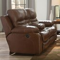 Catnapper 424 Patton Power Lay Flat Reclining Loveseat - Item Number: 64249-1283-19-3083-19