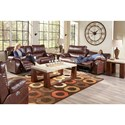 Catnapper Sheridan Casual Power Lay-Flat Recliner with Comfort Control Panel Technology