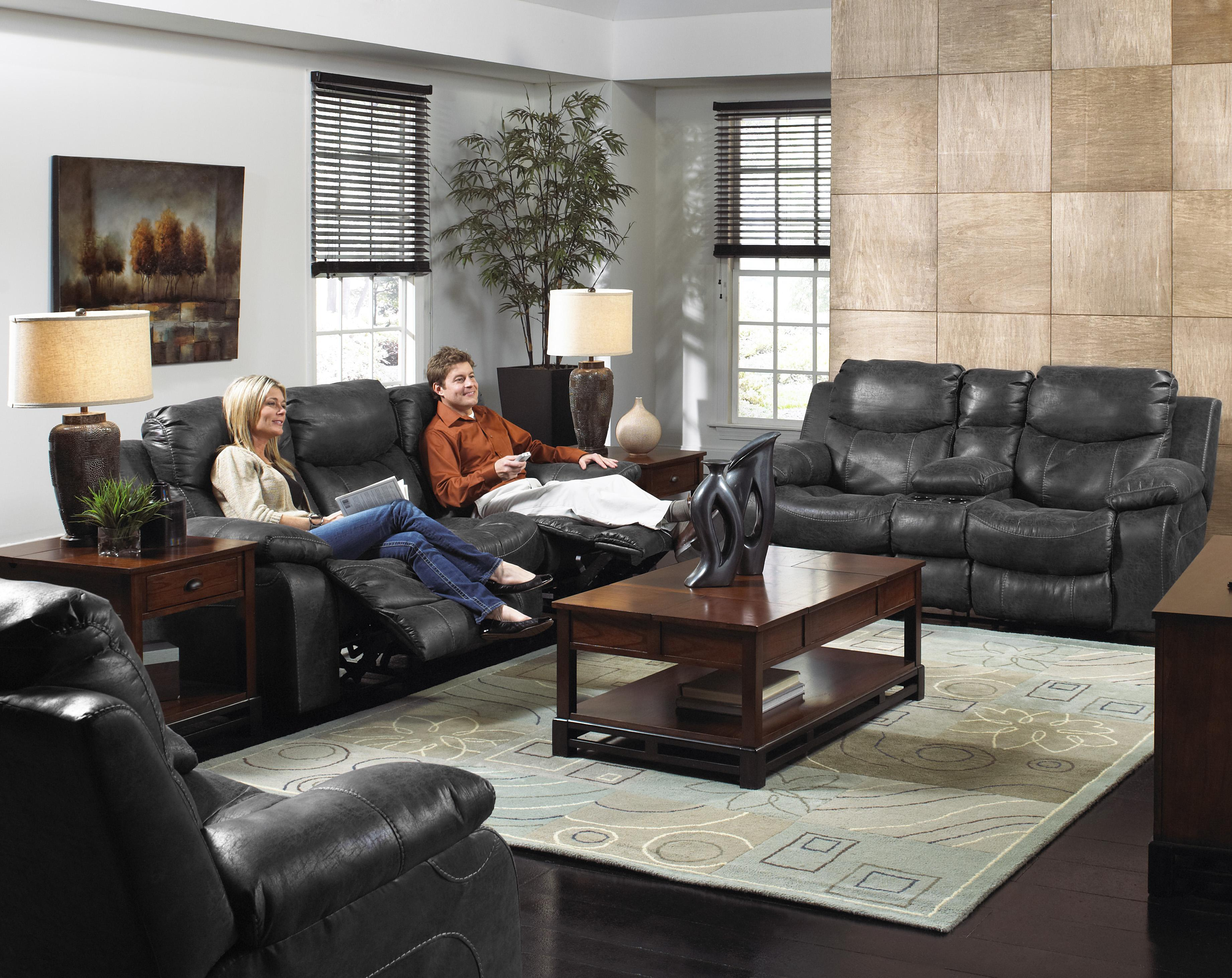 Catalina 431 Power Reclining Sofa For Living Rooms And