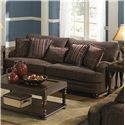 Jackson Furniture Brennan Sofa - Item Number: 4438-03 2747-34