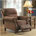 Jackson Furniture Brennan Traditional Styled Reclining Chair for Formal Living Rooms