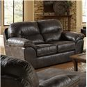 Jackson Furniture Grant Loveseat for Living Rooms and Family Rooms - 4453-02 1227-28-3027-28