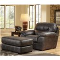 Jackson Furniture GUNSMOKE Ottoman for Living Rooms and Family Rooms