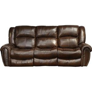 Catnapper 466-Jordan Lay Flat Reclining Sofa