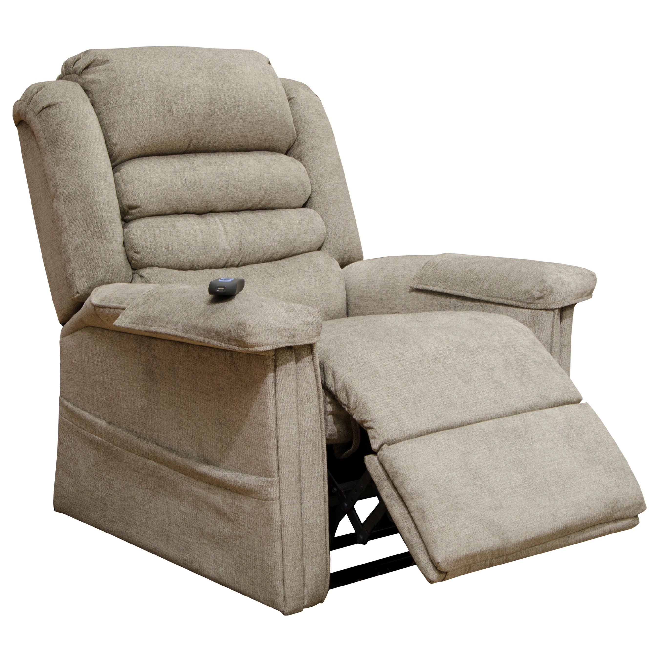"Invincible 4832 ""Pow'r Lift"" Recliner by Catnapper at Westrich Furniture & Appliances"