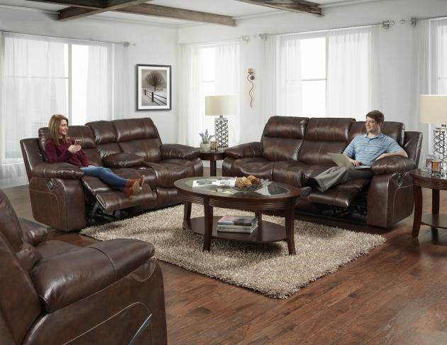 499 Leather Reclining Group