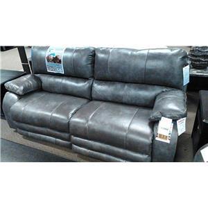 Catnapper 6427 Sheridan Gray Power Reclining Sofa