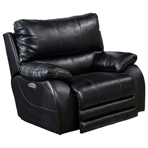 Power Headrest Power Lay Flat Recliner