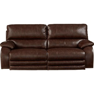 Catnapper Reclining Collection Power Headrest Power Lay Flat Reclining Sofa