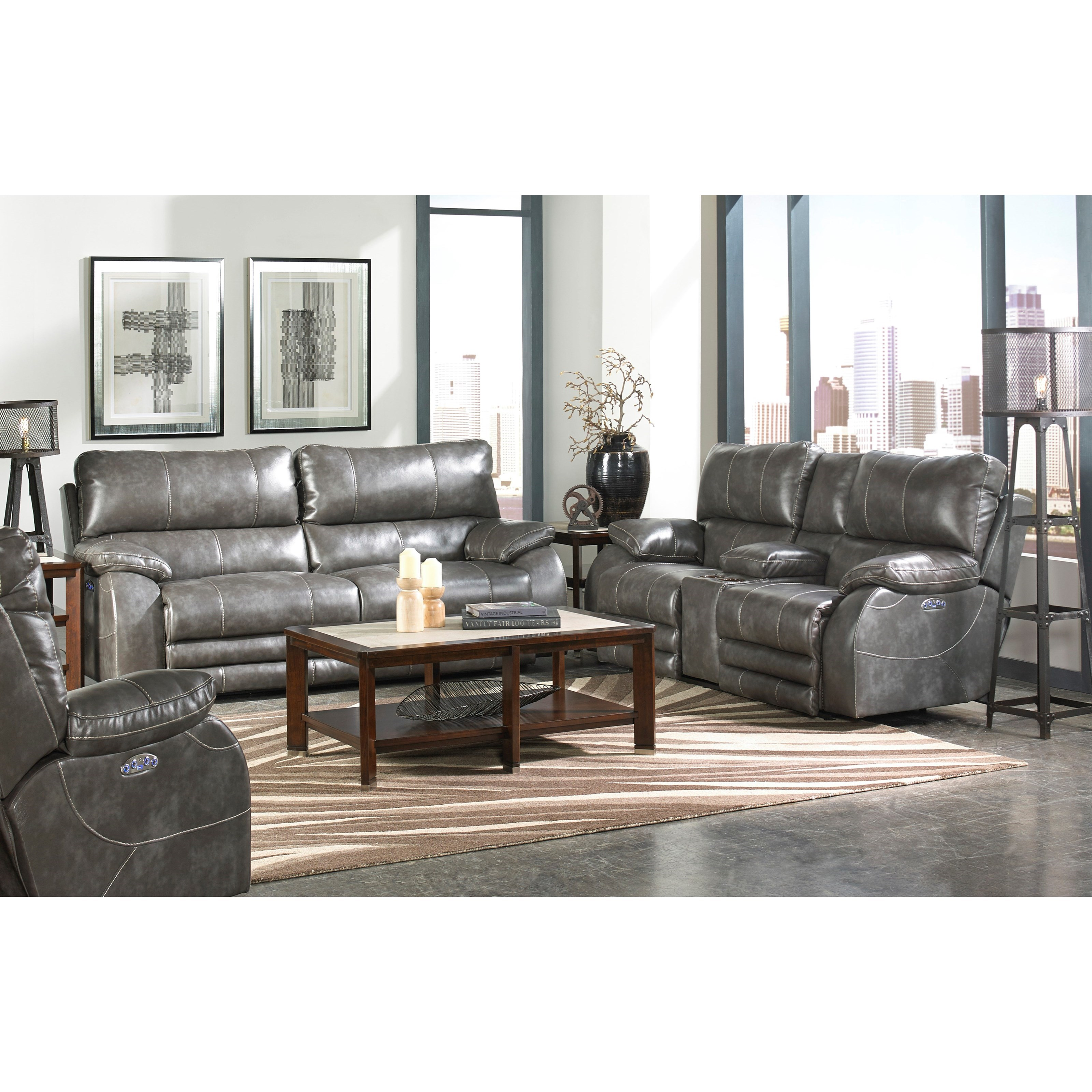 Catnapper Reclining Collection 64271 Reclining Sofa With