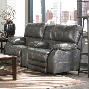 Power Headrest Power Lay Flat Loveseat