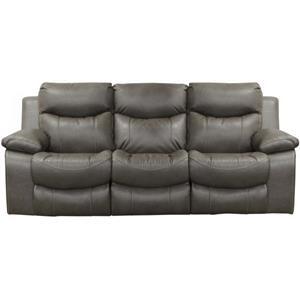 Catnapper Connor Lay Flat Reclining Sofa W/Pwr Head, ...