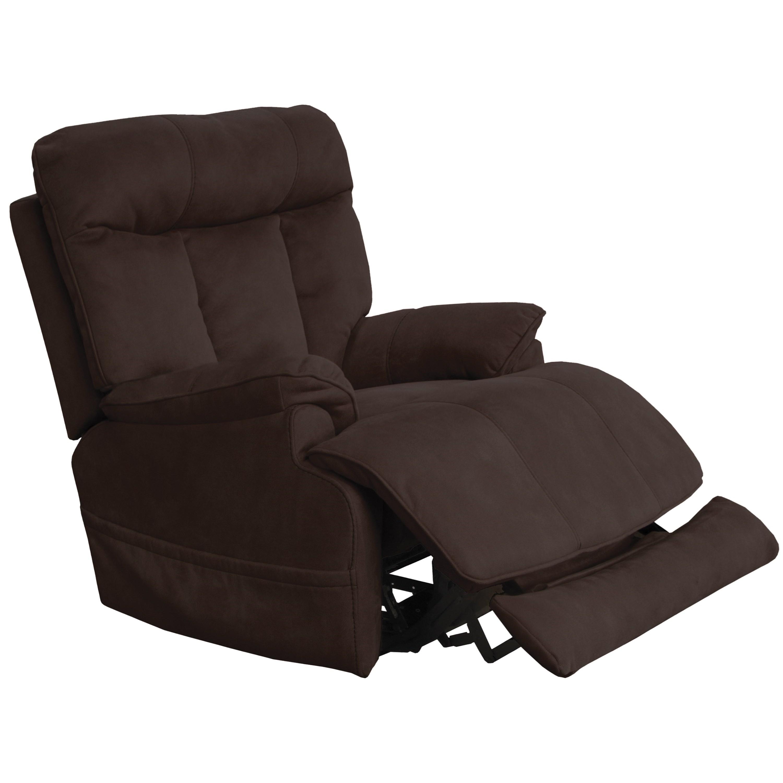 Power Headrest & Lumbar Layflat Recliner