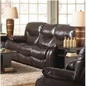 Catnapper Arlington Reclining Sofa - Item Number: 4771-mahogany