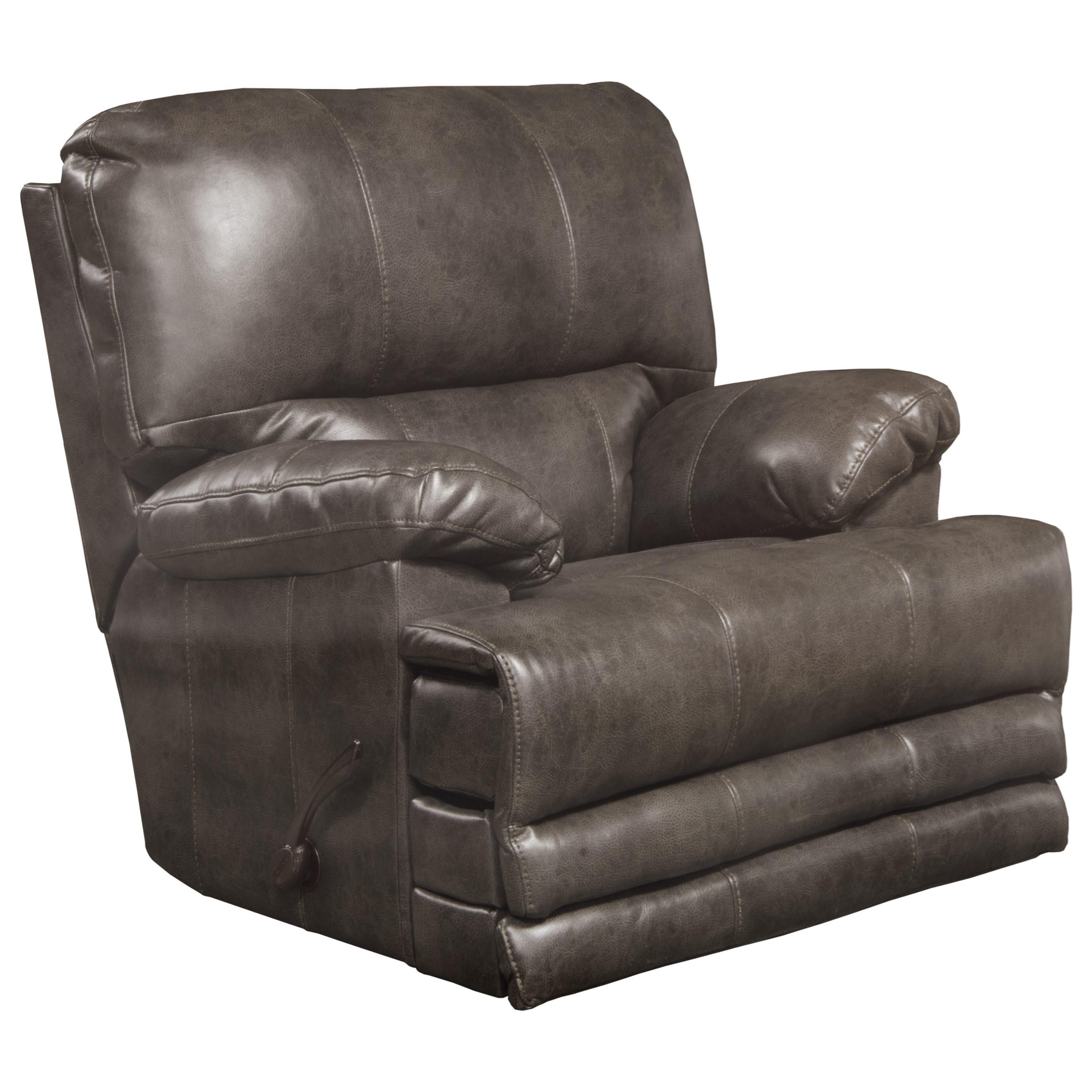 Catnapper Austin Casual Power Lay Flat Recliner With