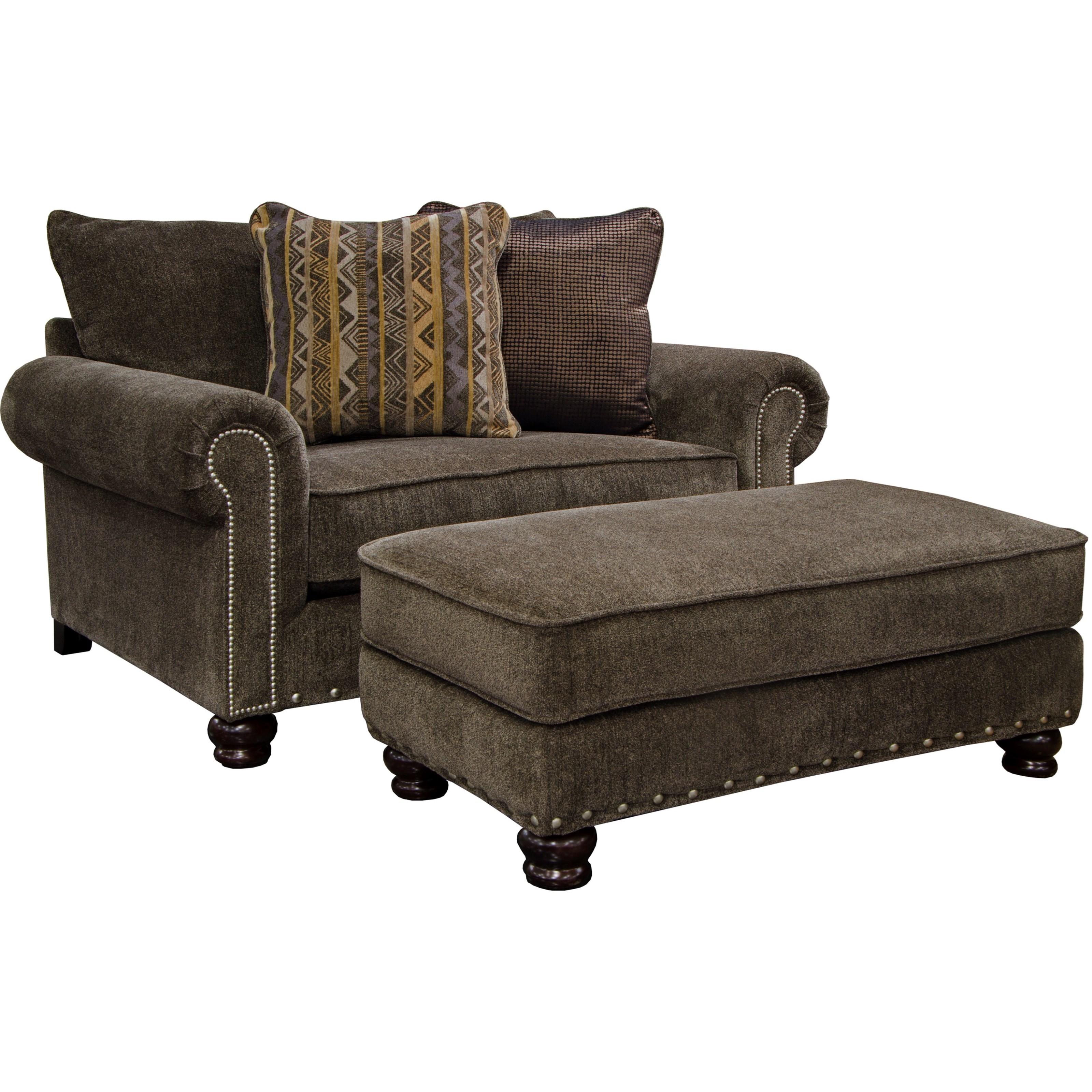Jackson Furniture Avery Ottoman Turk Furniture Ottomans