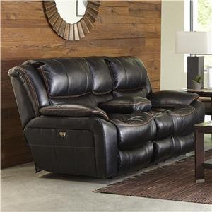 Catnapper Beckett Power Reclining Loveseat with USB Port