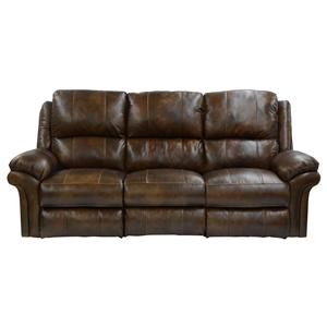 Catnapper Benson Power Lay Flat Reclining Sofa