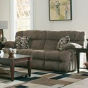 Catnapper Brice Power Headrest Power Lay Flat Reclining Sofa - Item Number: 62041-1622-29-1624-49
