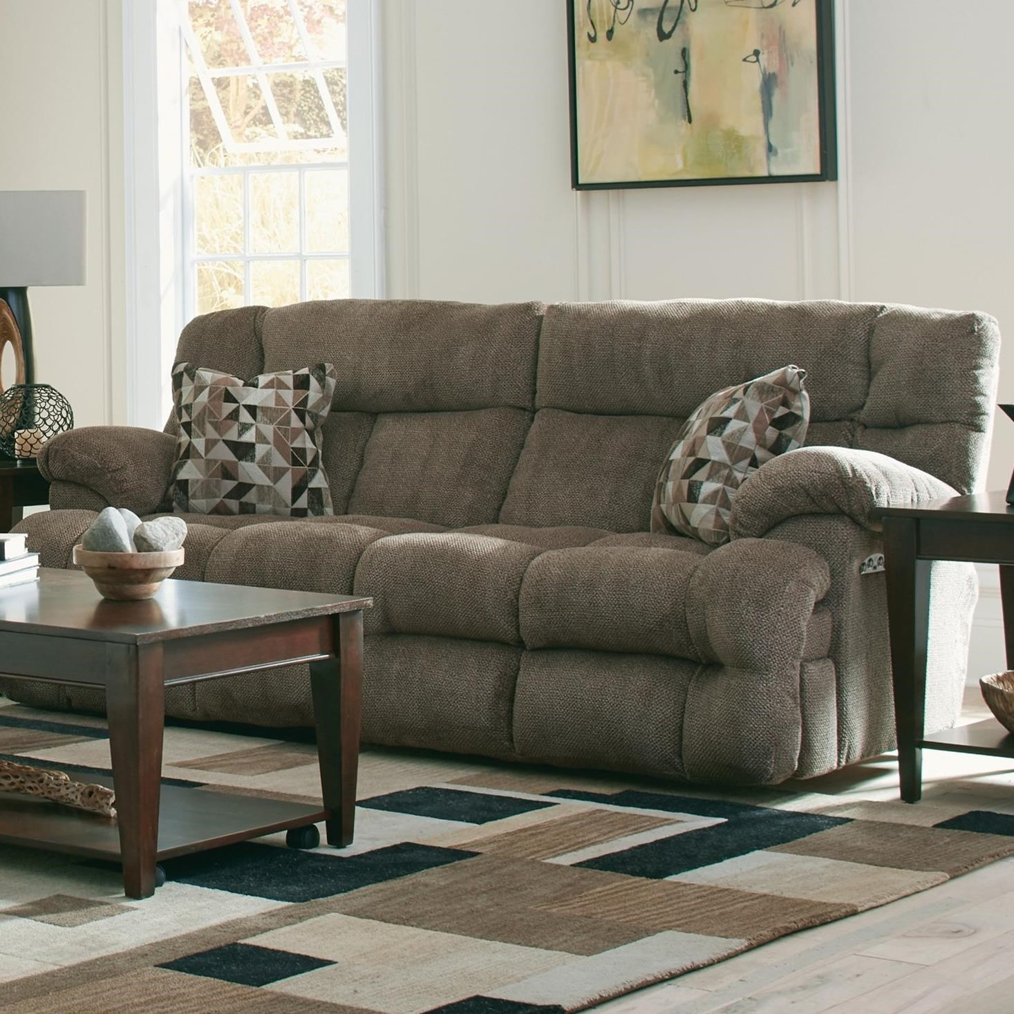 Catnapper Brice Lay Flat Reclining Sofa With Power