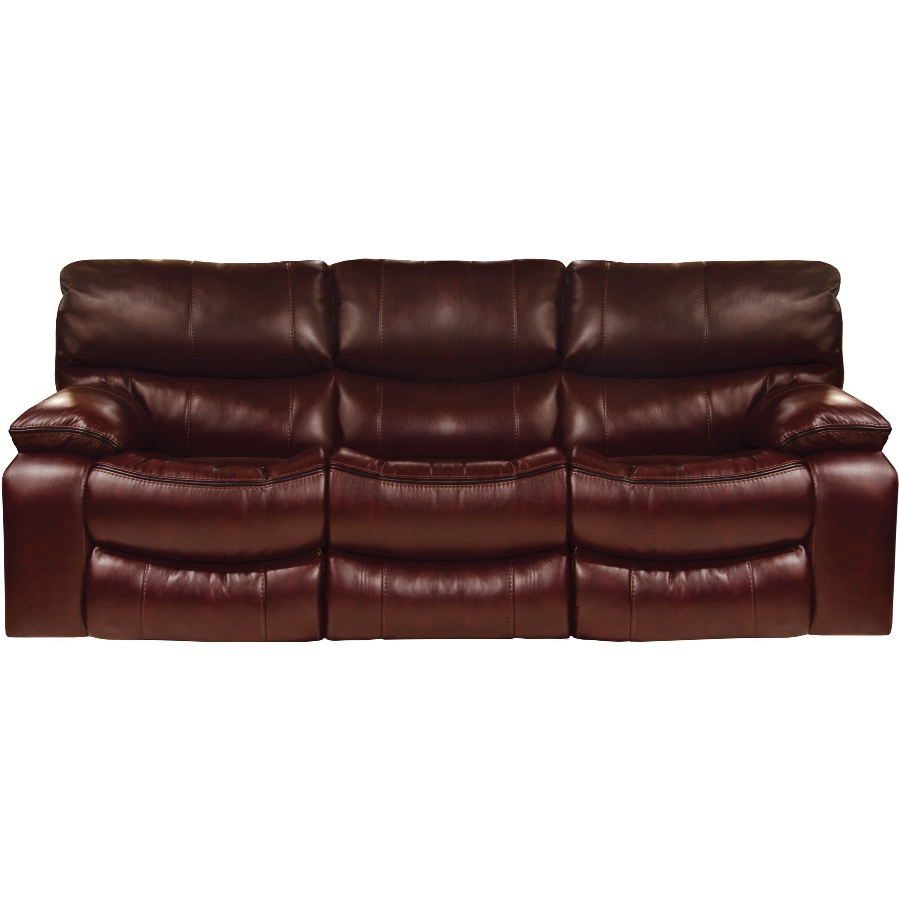 Catnapper Camden Lay Flat Reclining Sofa With Welt Stitching Zaks