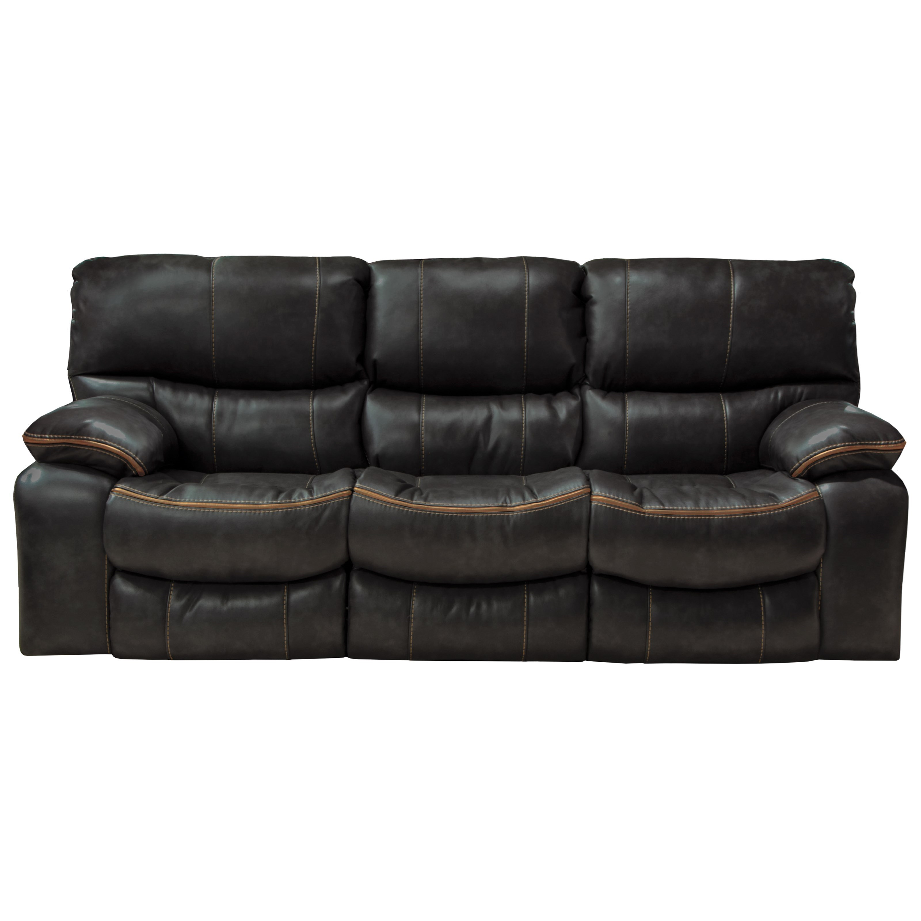 Catnapper Camden Power Lay Flat Reclining Sofa with Welt Stitching ...