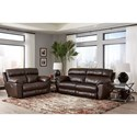 Catnapper Costa Reclining Living Room Group - Item Number: 407 Living Room Group 1