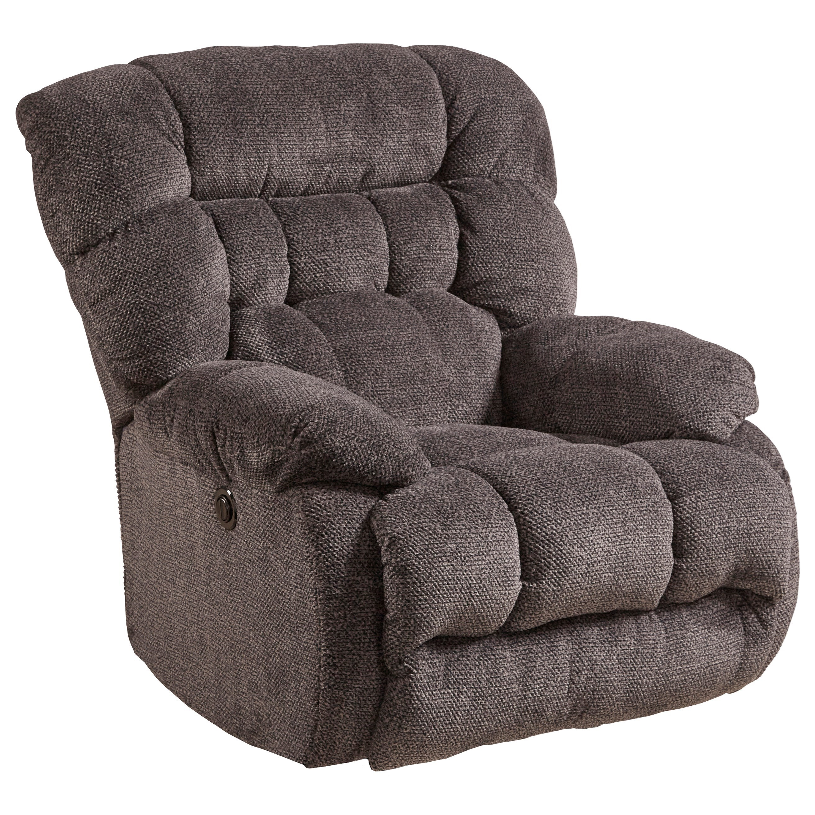Catnapper Daly Casual Power Lay Flat Recliner With Pillow Arms Lindy S Furniture Company Recliners