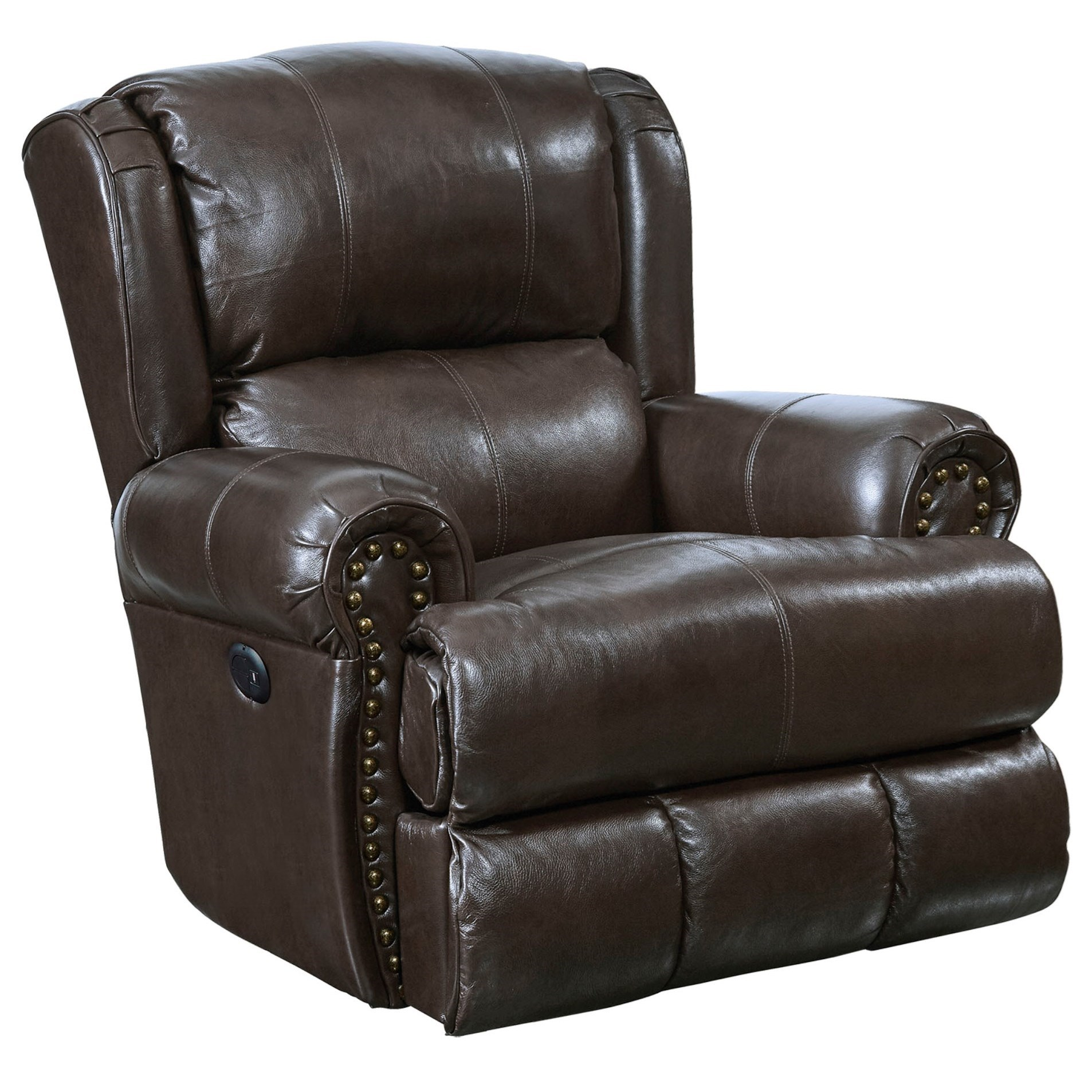 Duncan Power Deluxe Lay Flat Recliner by Catnapper at Northeast Factory Direct