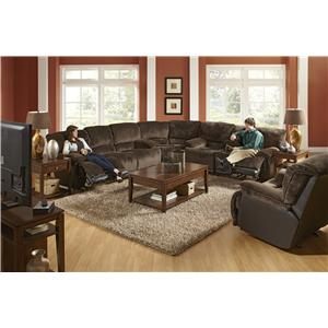 Catnapper Escalade 171 Reclining Sectional Sofa