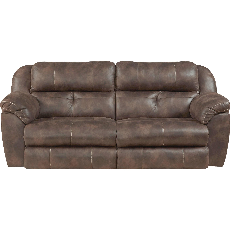 Pwr. Headrest Lay Flat Rec. Sofa w/ Lumbar